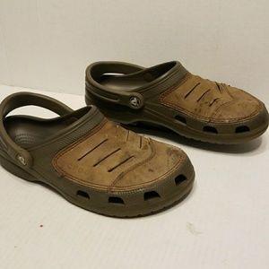 42a6bf7aeb8a CROCS Shoes - Crocs slides men s shoes size 8